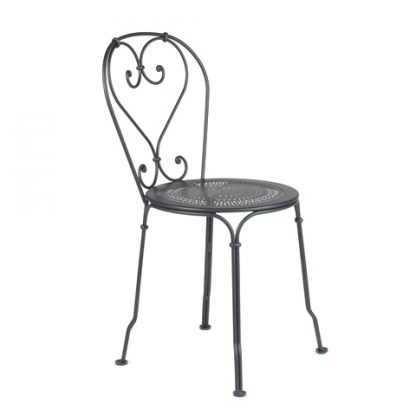 1900 chair in Liquorice