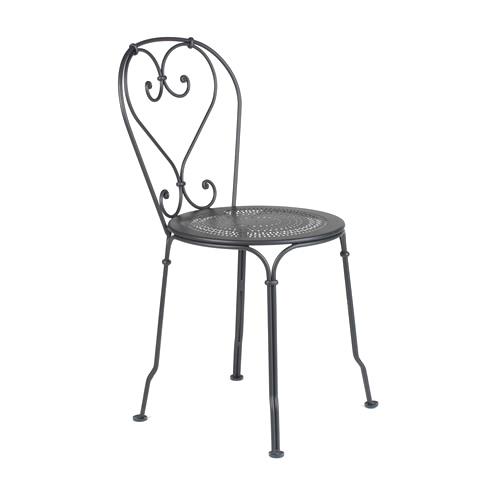 1900 chair in Liquorice