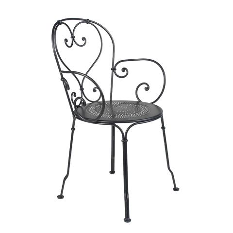 1900 armchair in Liquorice