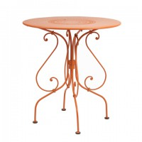 1900 table 67 cm diameter in Carrot
