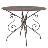 1900 table, 96cm diameter in Russet