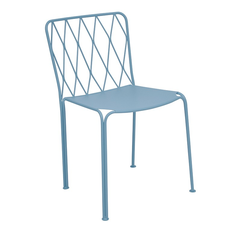 Kintbury chair in Lagoon Blue