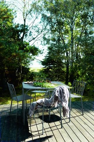 Kintbury table & chairs in Storm GreyPhotography: Birgitta Wolfgang Drejer