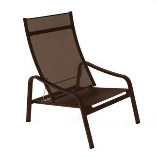 Alizé armchair in Russet