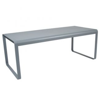Bellevie table in Storm Grey