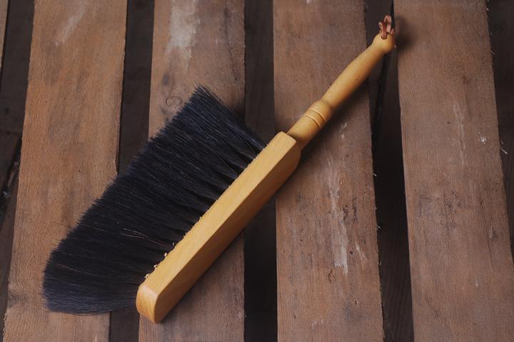 Soft horsehair brush