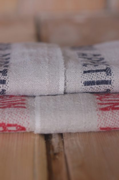 'Bon Appetit' French linen tea towel