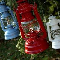 Feuerhand hurricane lanterns