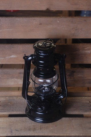 Feuerhand lantern in Black