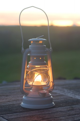 Feuerhand lantern in Cream