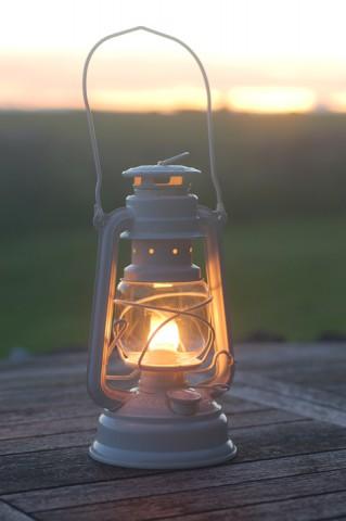 Feuerhand lantern in Cream
