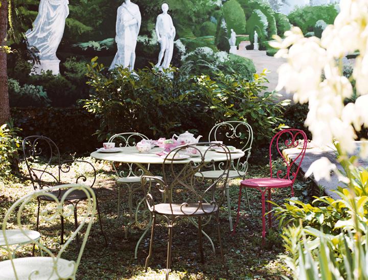 1900 table 117 cm le petit jardin - Table jardin fermob ...