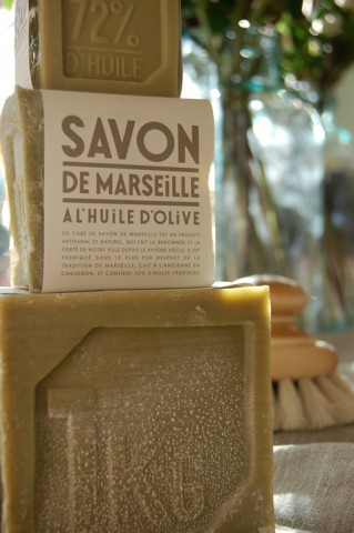 Provençal olive oil soap