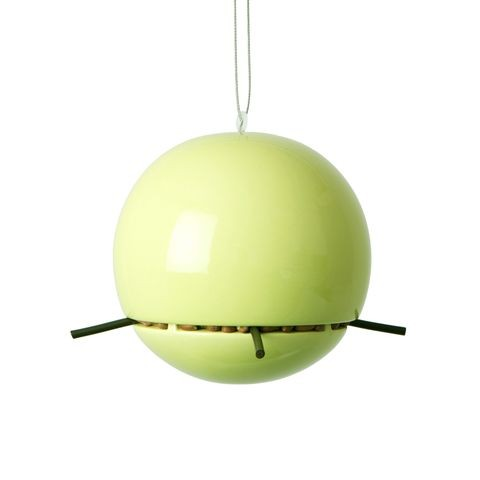 Peanut feeder in lime