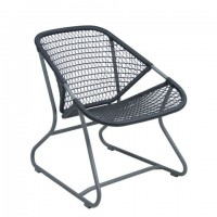 Sixties armchair in Storm Grey/Slate