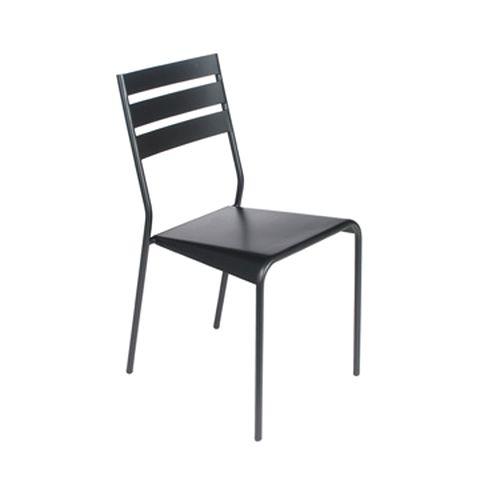 Facto chair in Liquorice