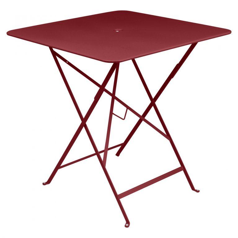 Bistro table 71 x 71 in Chili