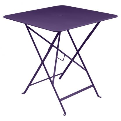 Bistro table 71 x 71 in Aubergine