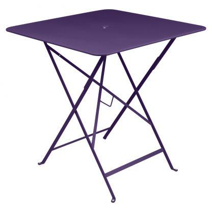 Bistro table 71 x 71 in Aubergine