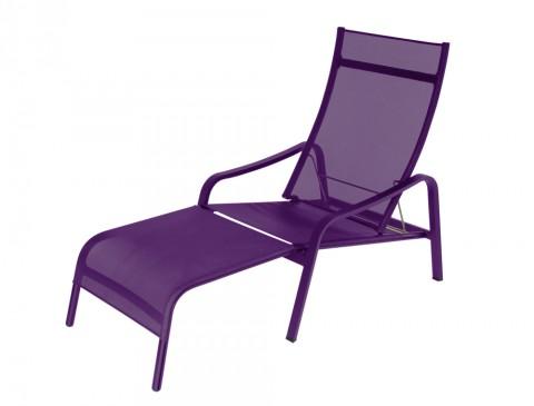 Alizé deck chair in Aubergine