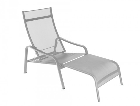 Alizé deck chair in Storm Grey