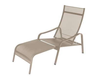 Alizé deck chair in Nutmeg
