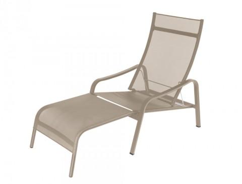 Alizé deck chair in Nutmeg