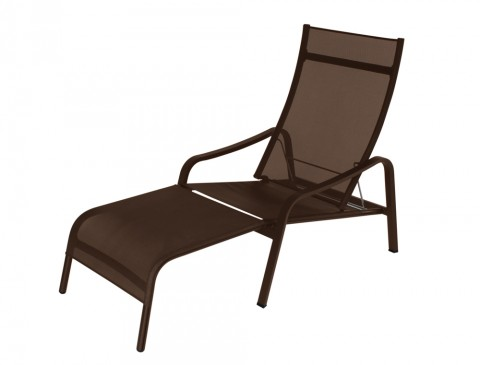 Alizé deck chair in Russet