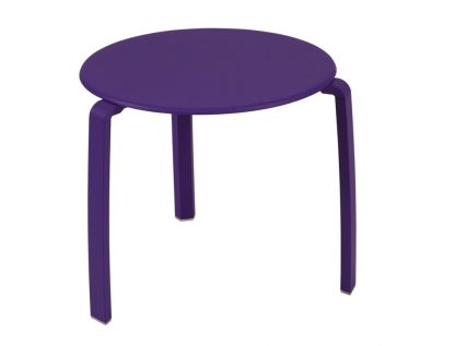 Alizé low side table in Aubergine