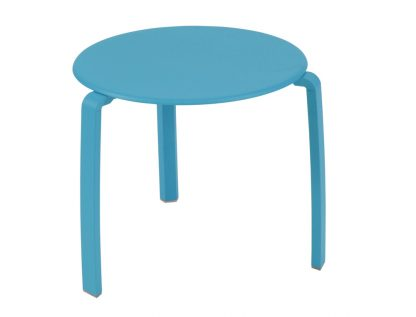 Alizé low side table in Turquoise