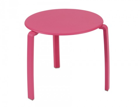 Alizé low side table in Fuchsia