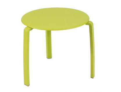 Alizé low side table in Verbena Green