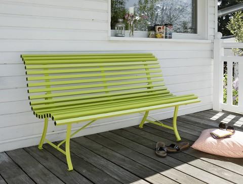 Louisiane bench 150cm in Verbena
