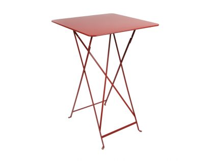 Bistro high table in Poppy