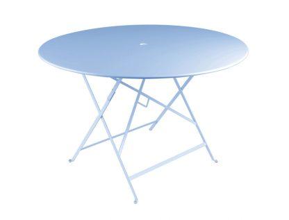 Bistro table 117cm diameter in Fjord Blue
