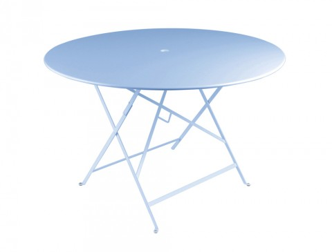 Bistro table 117 cm diameter in Fjord Blue