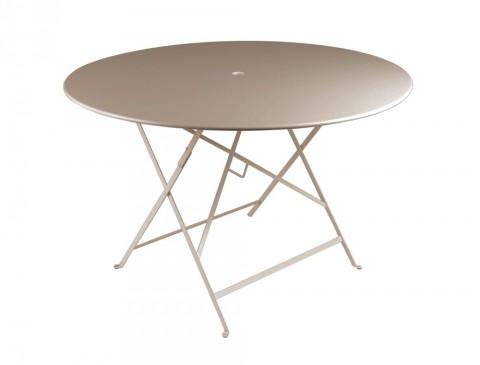 Bistro table Ø117cm in Nutmeg