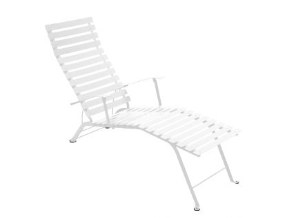 Bistro sunlounger in Cotton White