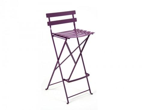 Bistro high chair in Aubergine