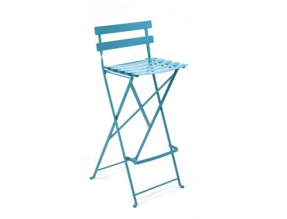 Bistro high chair in Turquoise