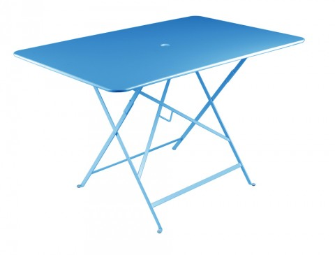 Bistro table 117 × 77 cm in Turquoise