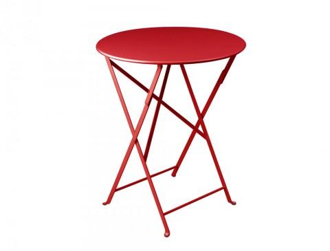 Bistro table Ø60cm in Poppy
