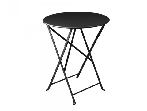 Bistro table Ø60cm in Liquorice
