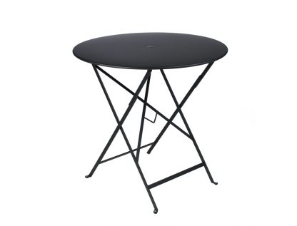 Bistro table Ø 77 cm in Liquorice