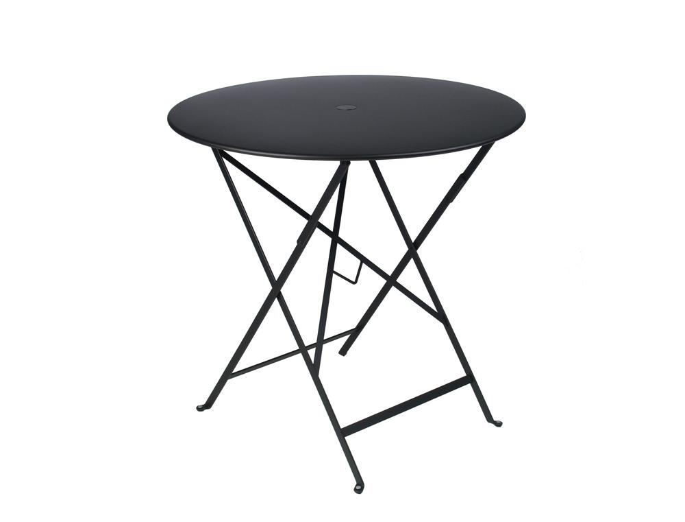 Bistro table Ø77cm in Liquorice