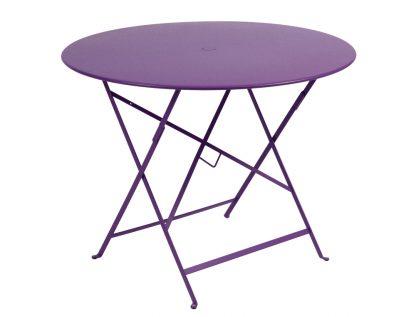 Bistro table Ø96cm in Aubergine