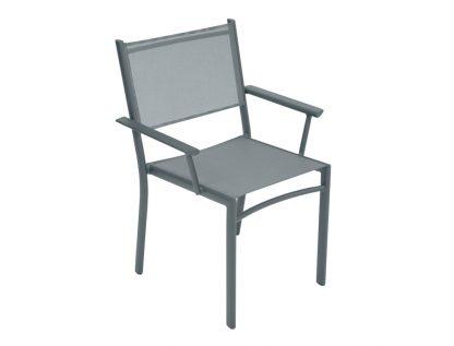 Costa armchair in Storm Grey