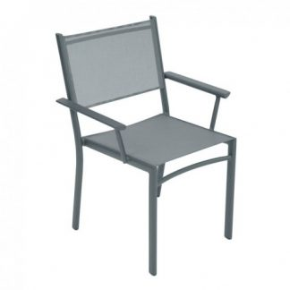 Costa armchair in Storm Grey