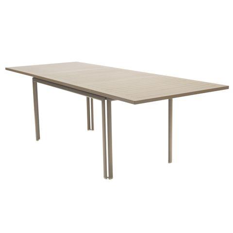 Costa extending table in Nutmeg