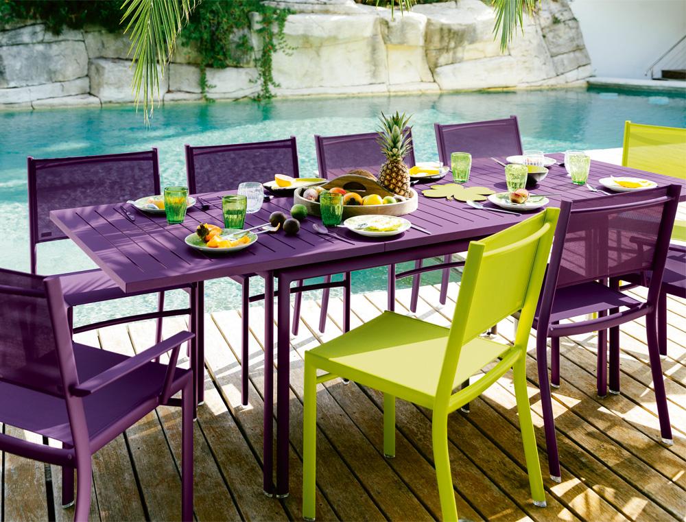 Costa extending table 160/240 × 90 cm - le petit jardin